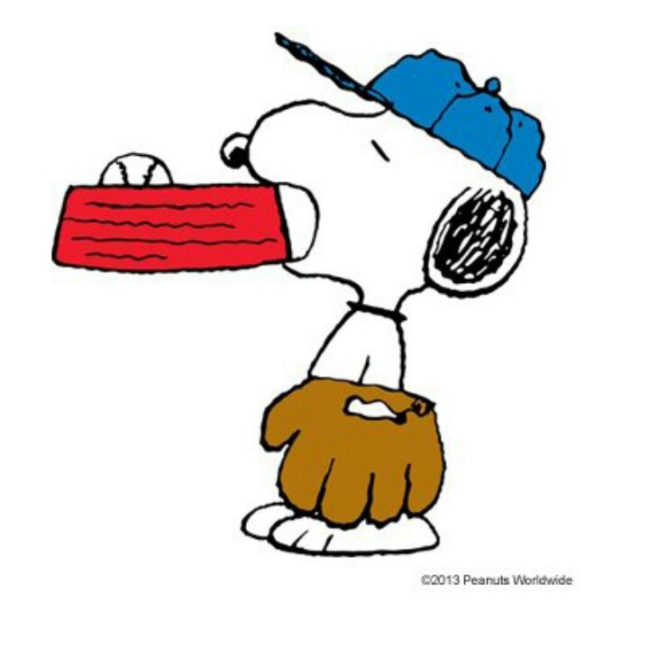 Snoopy clipart baseball Pinterest that behind is Snoopy