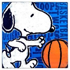Snoopy clipart basketball Snoopy Playing  Basketball Shop