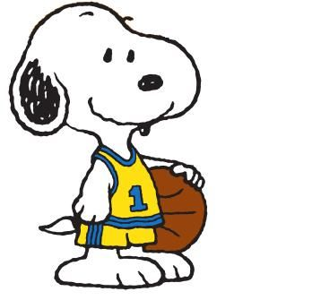 Snoopy clipart basketball SnoopyClip ArtCharlie Clip Classroom BrownBasketball