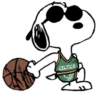 Snoopy clipart basketball Art Download Clip Clip Basketball