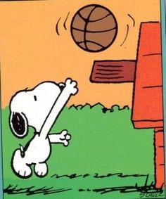 Snoopy clipart basketball Images Clip Birthday Download Basketball