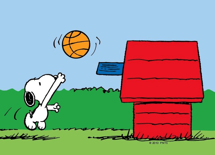 Snoopy clipart basketball Recess Clip PE PE art: