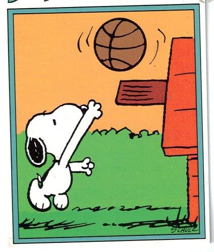 Snoopy clipart basketball 136 Images basketball basketball Bing