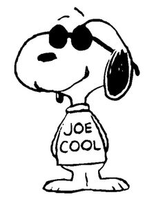 Snoopy clipart black and white Google cool gang  Peanuts