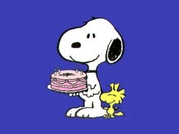 Snoopy clipart cake Peanuts at at Woodstock Recipins