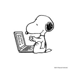 Snoopy clipart computer This Possibilities Charlie General on