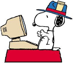 Snoopy clipart computer This Snoopy company ^)\ on