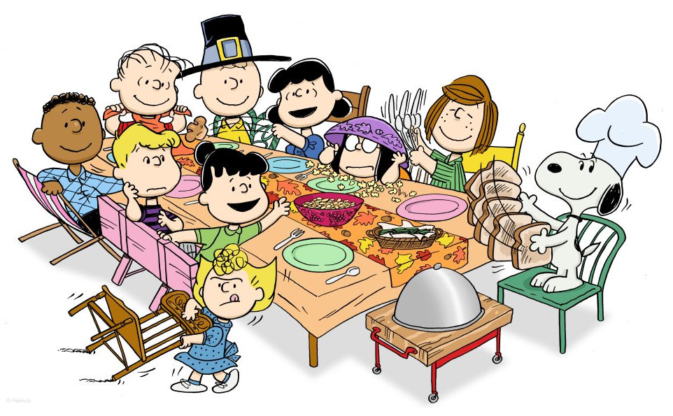 Snoopy clipart cooking Thanksgiving Celebrate Snoopy Snoopy Peanuts