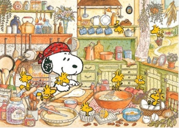 Snoopy clipart cooking Charlie baking best on 193