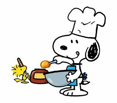 Snoopy clipart cooking For 2539 / images on