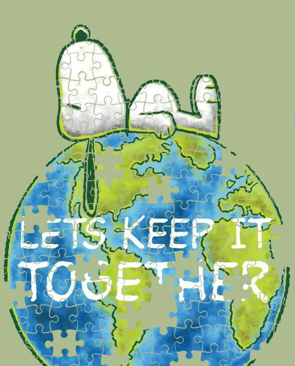 Snoopy clipart cute Earth Earth Snoopy on Pinterest