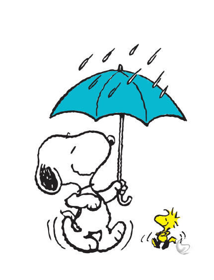 Snoopy clipart dancing Out in the and in