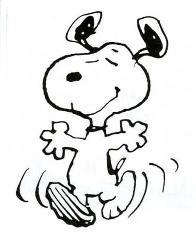 Snoopy clipart dancing Snoopy dance Juni » 2013