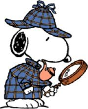 Snoopy clipart detective Detective jpg Image Fandom by