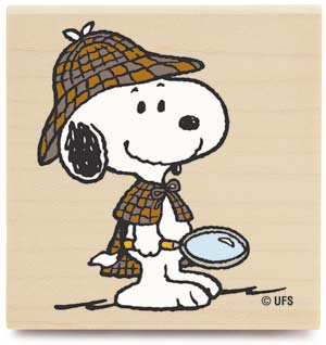 Snoopy clipart detective Snoopy 2 detail stamp 25