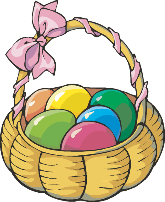 Easter clipart basketball #8