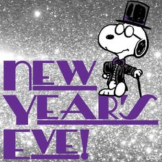 Snoopy clipart eve New Clip year Pinterest art