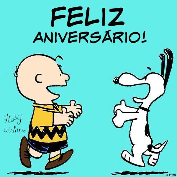 Snoopy clipart feliz Birthday♡ Feliz Aniversário Feliz aniversário