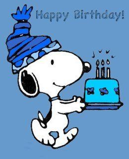 Snoopy clipart feliz Birthday images Pinterest Snoopy Find