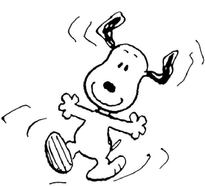 Snoopy clipart feliz Desenhos about para 115 colorir