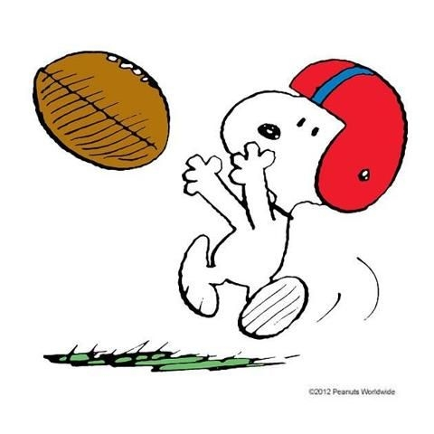 Football clipart snoopy Clipart Brown Charlie Football com