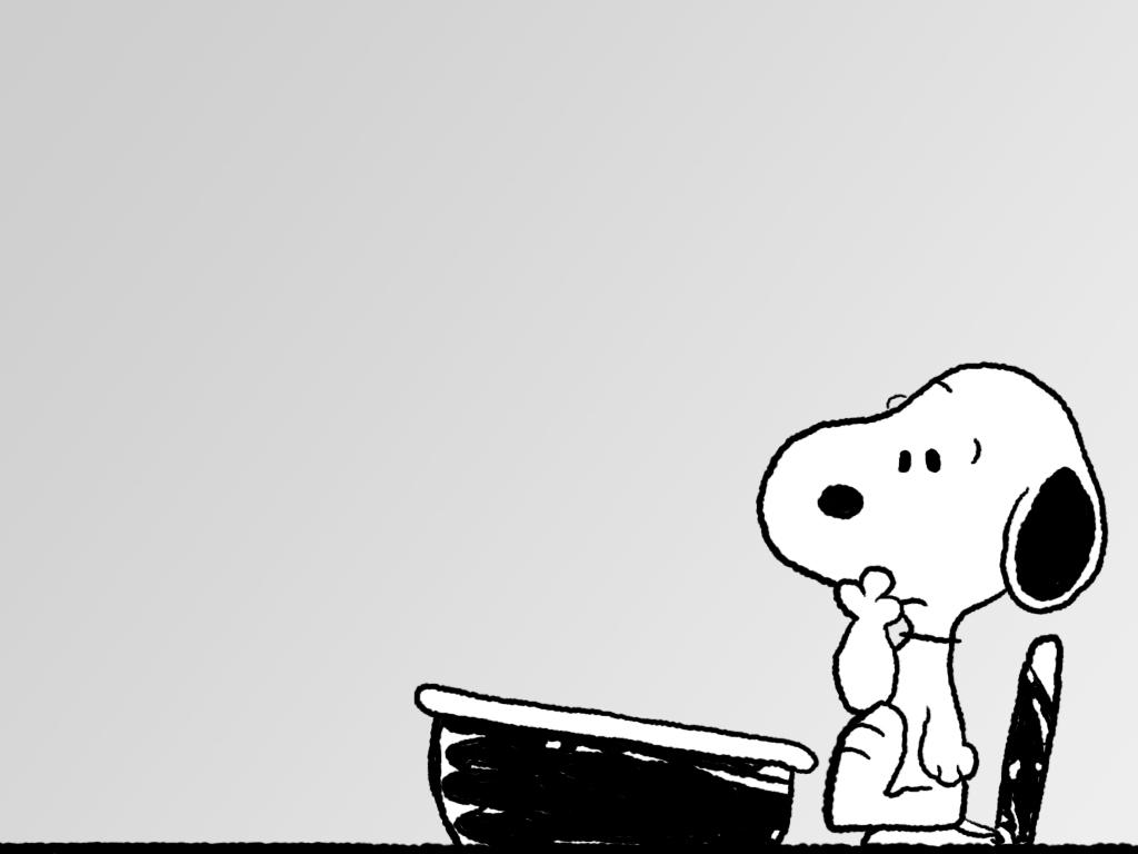 Snoopy clipart go to school Peanuts desk Snoopy (1024×768) 3089123