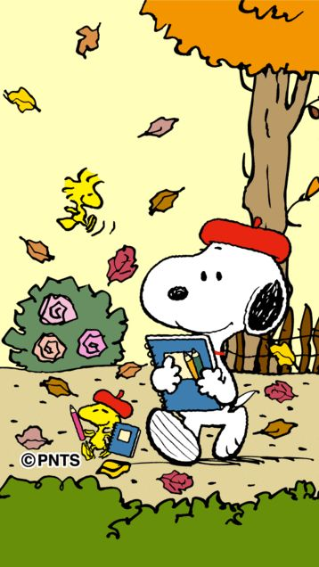 Snoopy clipart go to school And Snoopy art school Woodstock