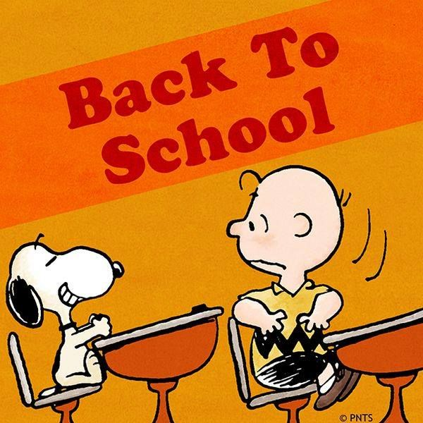Peanut clipart back to school And best 50 Snoopy~~School more