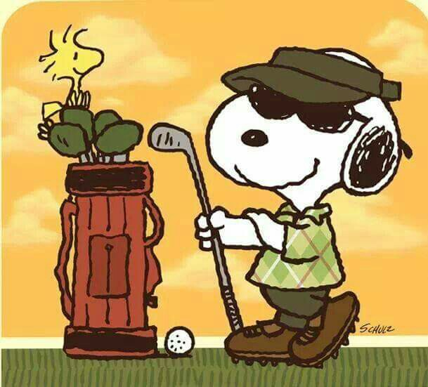 Snoopy clipart golf Snoopy Pinterest Happiness Golf and