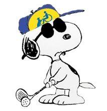 Snoopy clipart golf Pinterest Women Golf Snoopy clips