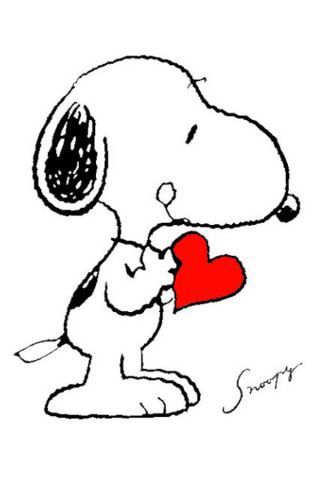 Snoopy clipart heart On images best 4341 Snoopy