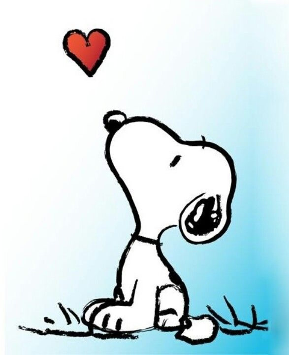 Snoopy clipart heart All ideas You on For