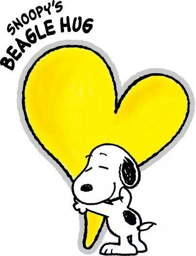 Snoopy clipart hug Snoopy quotes on Pinterest Snoopy