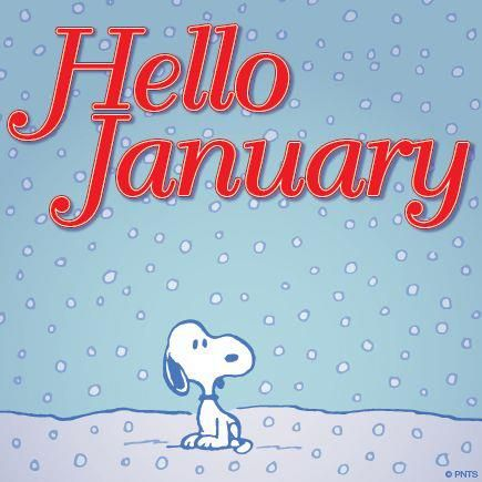 Snoopy clipart january Pin With more about and
