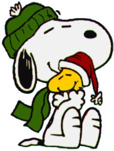 Snoopy clipart january Peanuts Woodstock Tags Gift and