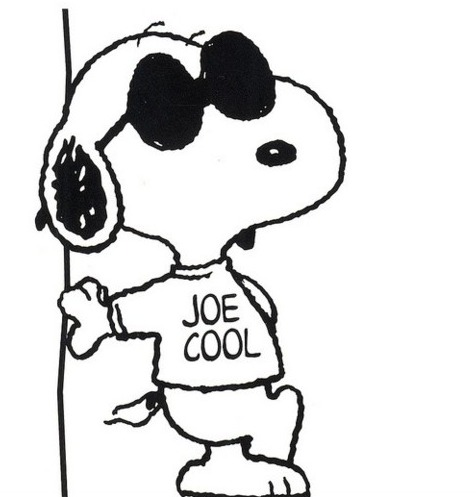 Snoopy clipart joe cool Cool be exact! Sunglasses CTS