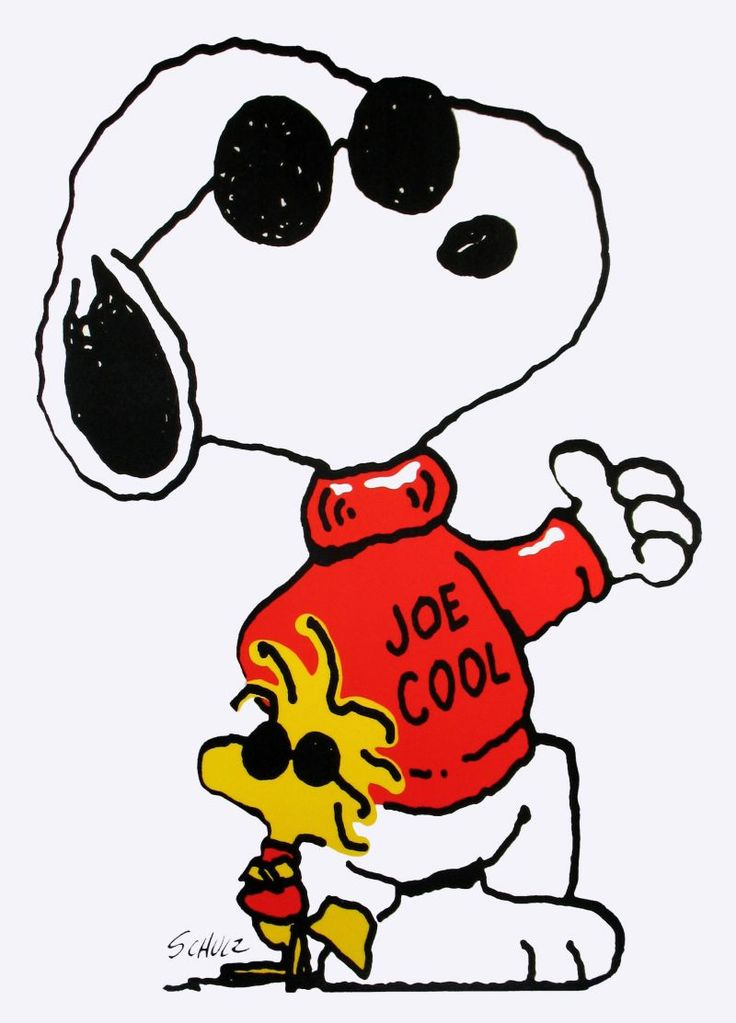 Snoopy clipart joe cool Cool 120 best But cooler