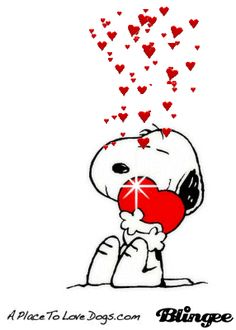 Snoopy clipart kiss Peanuts Clip ♡ and or