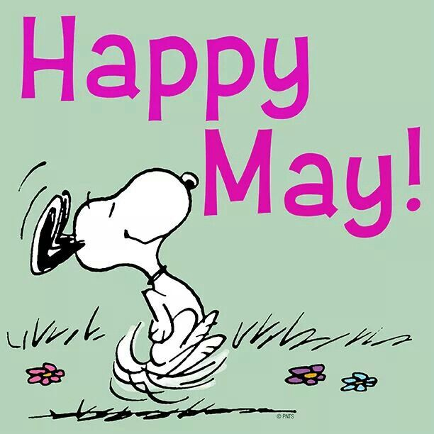 Snoopy clipart may 13 images best of Happy