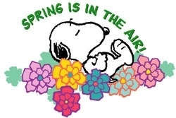 Snoopy clipart may Resolution Audrea Spring jpg Spring