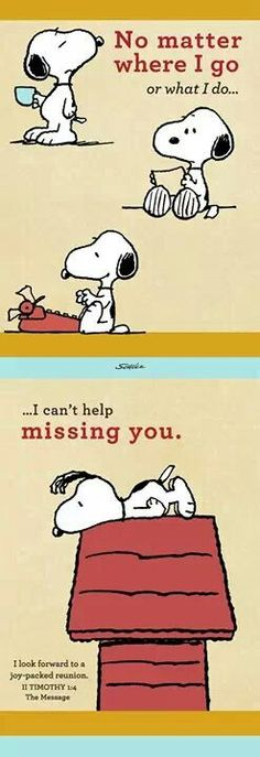 Snoopy clipart miss you Snoopy Clip ♡ I you