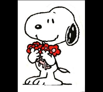 Snoopy clipart miss you About Snoopy Peppermint red best