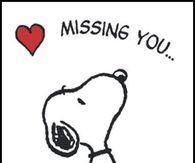 Snoopy clipart miss you Pics for Snoopy Images Photos