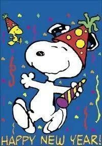 Snoopy clipart new year Snoopy ) Birthday yet! the