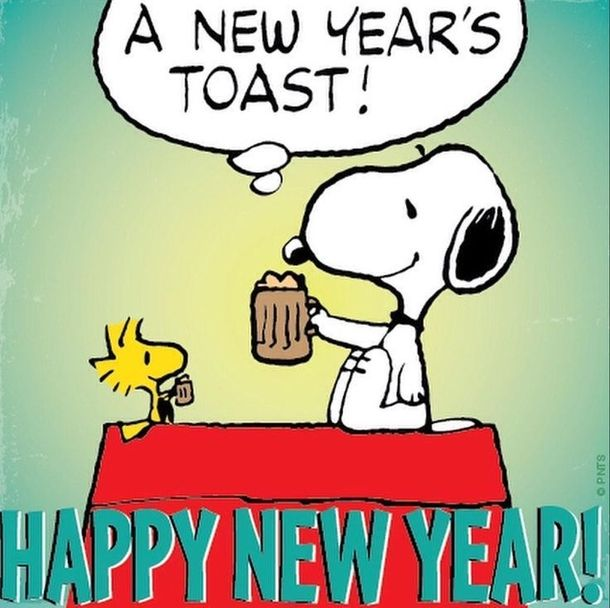 Snoopy clipart new year Ideas year 25+  Best