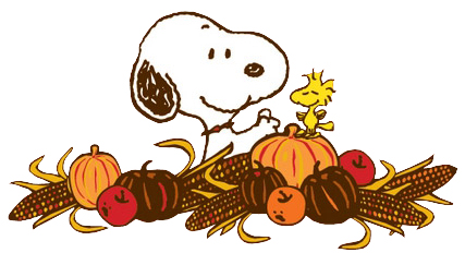 Snoopy clipart pilgrim Snoopy Thanksgiving The thanksgiving snoopy