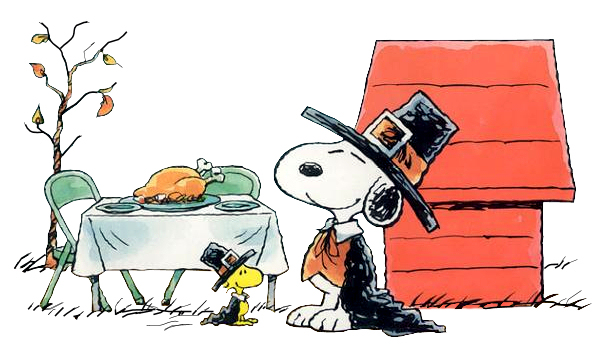 Snoopy clipart pilgrim Free Thanksgiving art art thanksgiving