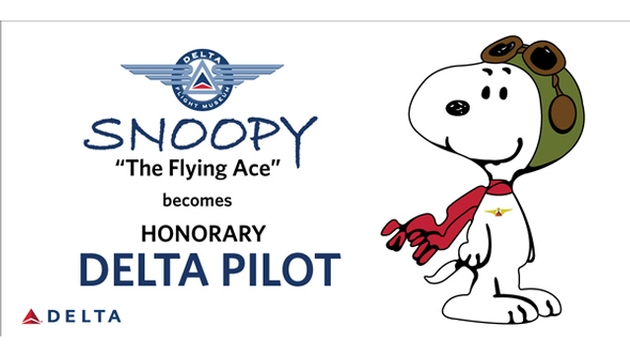 Snoopy clipart pilot Honorary Delta Snoopy Pilot an