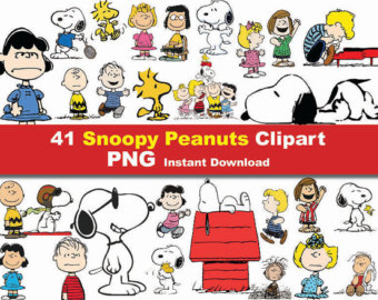 Snoopy clipart printable Graphic printable Etsy Instant Download