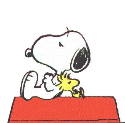 Snoopy clipart singing And and on company this